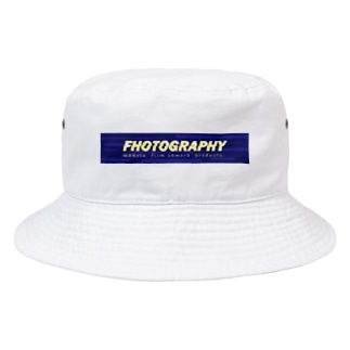 photography ノイズロゴ Bucket Hat
