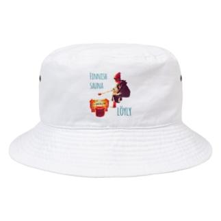 ロウリュ Bucket Hat