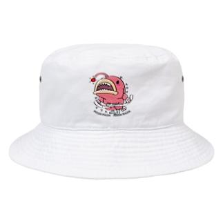 CT114 海の底のあんこ姫*まだまだいける Bucket Hat