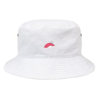 寿司から出てきたぽんきち Bucket Hat