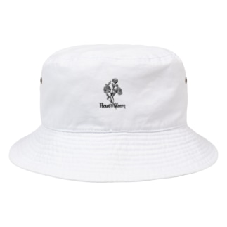 FLOWER BLOOM Bucket Hat