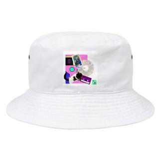 momo_emi MOMOの背中にはハートが、レコード・カセットテープ♪ Bucket Hat