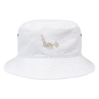 ドンドン蓮根足 Bucket Hat