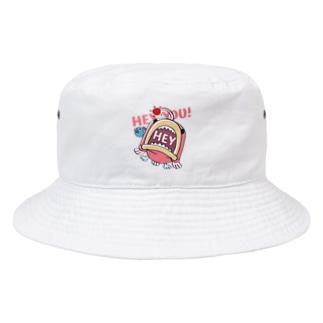 CT117海の底のあんこ姫*HEY YOU!*釣れたかもA* Bucket Hat