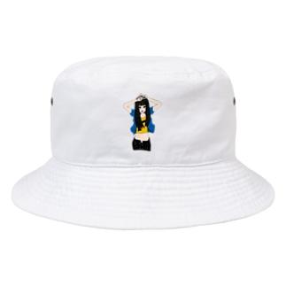 ぴーす。 Bucket Hat