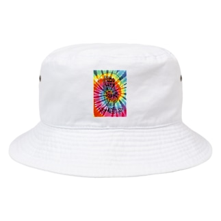 Power Of love タイダイ Bucket Hat