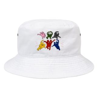 くまどんズバケットハット Bucket Hat