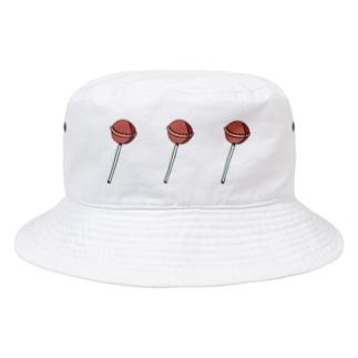 ビターなロリポップ・キャンディ。 Bucket Hat