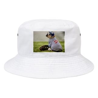 ブルドッグのブチコ Bucket Hat