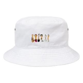 『布人 fujin』 Bucket Hat