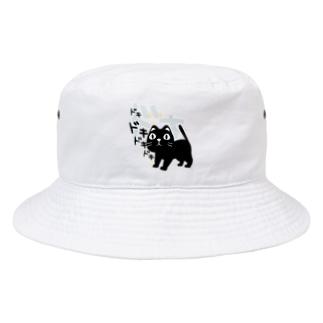 *suzuriDeMonyaa.tag*のCT120 やみねこ、ろっぽのドキドキA Bucket Hat