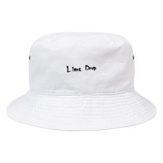 Lime Drop ロゴ Bucket Hat
