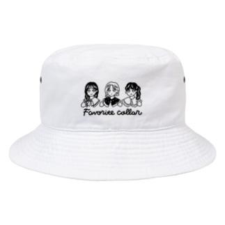 Favorite collar Bucket Hat