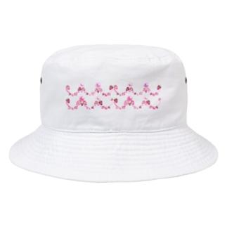 いちごと水晶玉のふんわり魔法 ~リボン&レース~ Bucket Hat