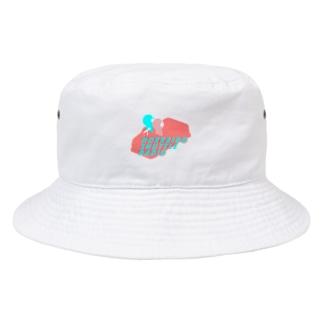 北海道シャトルラジオロゴ Bucket Hat