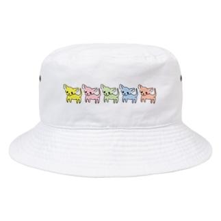 ゆるチワワ(カラフル) Bucket Hat