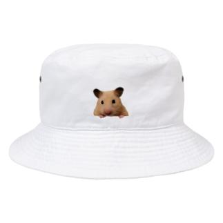ひょっこりぽち Bucket Hat
