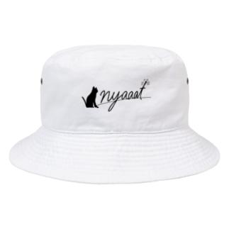nyaaat公式ネコアイテム Bucket Hat