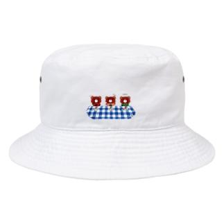【POPベアーズ】おやつタイム2 Bucket Hat