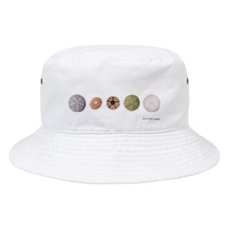 ウニ殻5個 Bucket Hat
