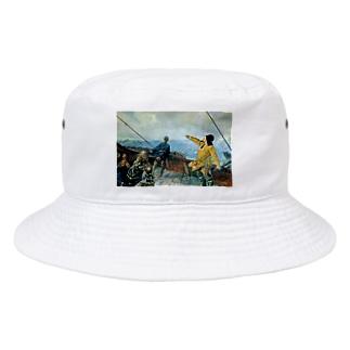 クリスチャン・クローグ《アメリカを発見したレイフ・エリクソン》 Bucket Hat
