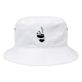友人はパンダが大好き❤️ Bucket Hat