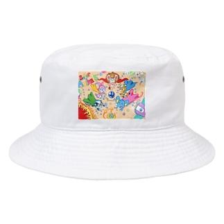 スーパーアニマルズ『スーパーアニマルズ集合!!』 Bucket Hat