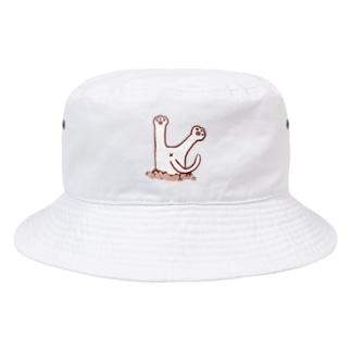 スポッ Bucket Hat