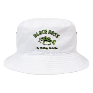 ブラックバス Bucket Hat