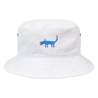Inuuu - mysterious dog Bucket Hat