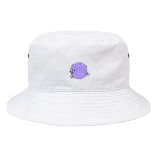 Inuuu - fluffy dog Bucket Hat