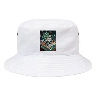 世界の絵画アートグッズのフアン・グリス 《チェックのテーブルクロスのある静物》 Bucket Hat