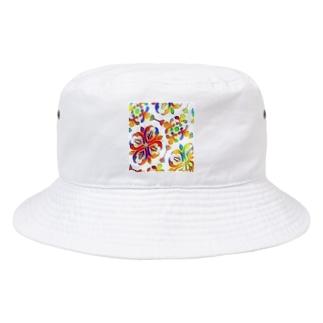 アラベスク柄 Bucket Hat