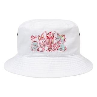 トロピカルパーティー Bucket Hat