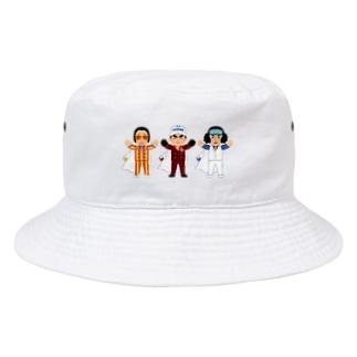 海軍3大将 ワンピース Bucket Hat