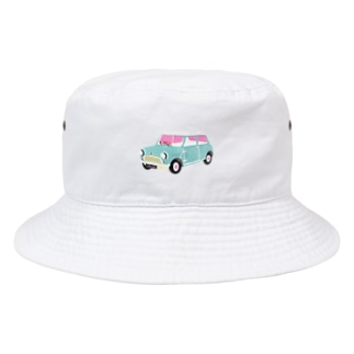 After partyのmini car Bucket Hat
