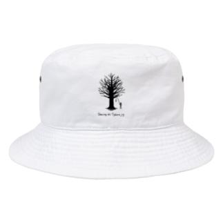 Tyburn jig -black- Bucket Hat