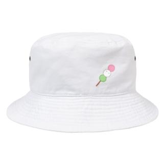 お団子毛玉 Bucket Hat