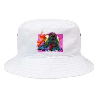 焼き魚ちゃん Bucket Hat