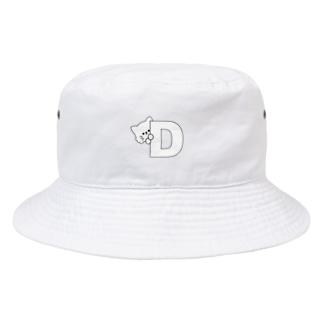 ねこのぼうし(アルファベット:D) Bucket Hat