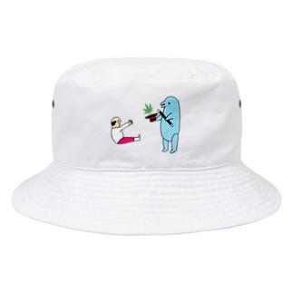 花くまゆうさくの手品 Bucket Hat