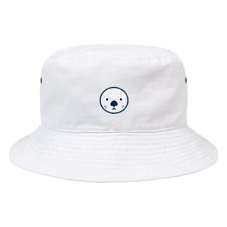 ラッッッコ「ワンポイント(顔アイコン)」 Bucket Hat