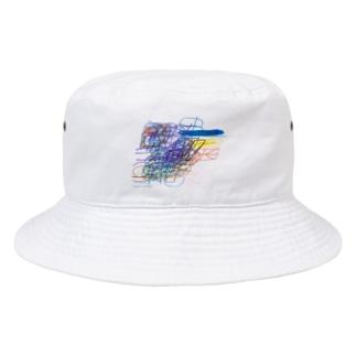 no title / shimpei ono  Bucket Hat