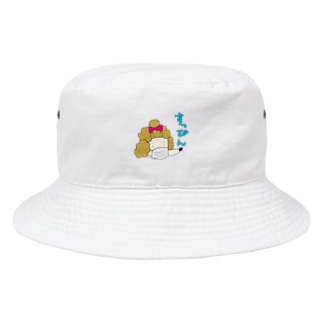 スッピン プードル Bucket Hat