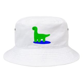 にこにこゆるきょうりゅう② Bucket Hat
