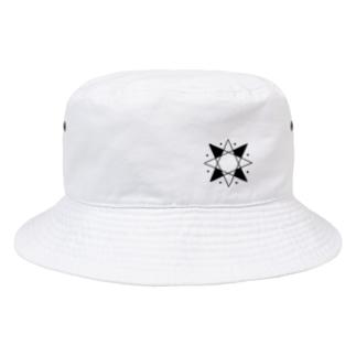 りょうたロゴ(ホワイト) ハット Bucket Hat