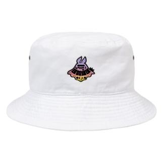 うみゅーのロゴマーク(暖) Bucket Hat