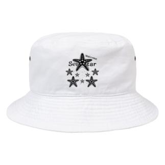 *suzuriDeMonyaa.tag*の表_CT139 Welcome!ヒトデ*A Bucket Hat