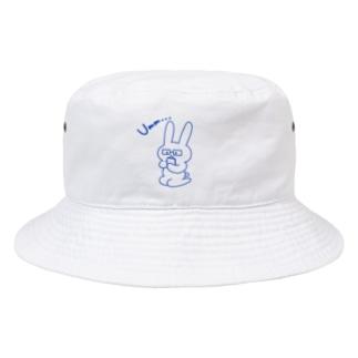 ウサギのお買いもの Bucket Hat