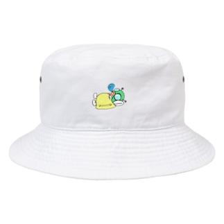 仮眠ライダー(イエロー) Bucket Hat